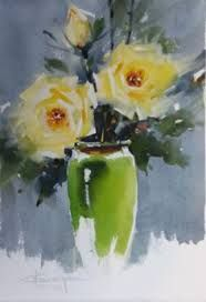 Image result for laurentino marti watercolor flowers