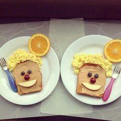 Desayuno divertido