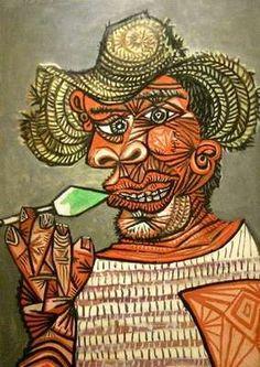 Homme à la sucette, par Pablo Picasso
