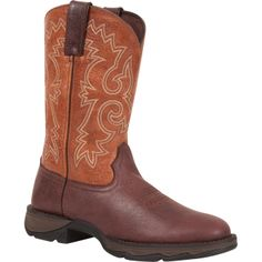 Lady Rebel by Durango Bar None Peanut Butter Western Boot, #DWRD021