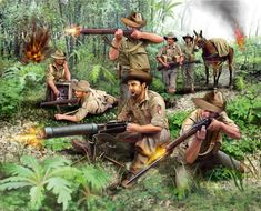 Royal Australian Army - Infantry in Pacific