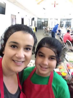 Volunteering at the local soup kitchen to feed the hungry and homeless in Augusta GA. STARTING 2014 with a gratitude and generosity with my lil lady :) making momma proud
