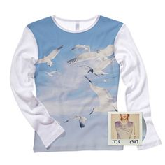Get the Adorable Seagull Shirt Taylor Swift Wears on the Cover of Her New Album!  #InStyle