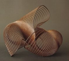 Japanese Ikebana sculpture | Bamboo basket weaving