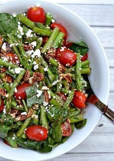 Spinach, Asparagus,