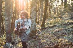 Exploring Salem Oregon: Acoustic Thursdays at Venti's: Rebecca McDade #ExploringSalemOregon #VentisBasementBar #livemusic