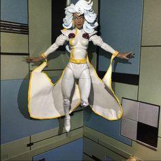 Jim Lee Style 90s Storm (Marvel Legends) Custom Action Figure