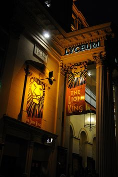 Lyceum Theater, London  I saw the Lion King in this theater while on a visit. awesome production