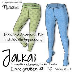Näähglück by Sophie Kääriäinen: Jalka Mama