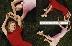 Natalia Vodianova and Mariacarla Boscono star in Stella McCartney spring-summer 2016 campaign