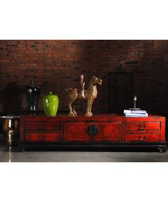Shanghai Sideboard Red - Chinese Furniture