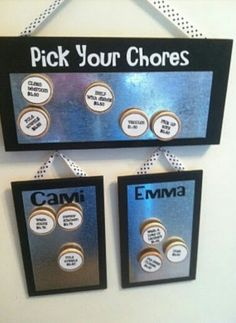 Cute Chore Chart
