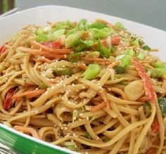 """""""These noodles are yumm served hot or cold."""" —Enjolinfam"""