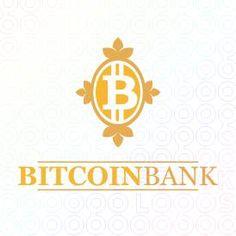 Exclusive Customizable Bitcoin Logo For Sale: bitcoin bank | StockLogos.com