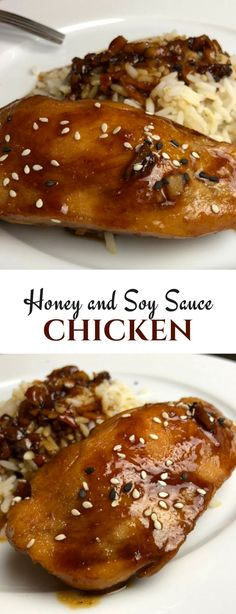 Honey soy chicken recipe for dinner