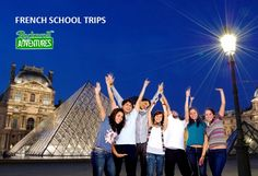 Enjoy your French school trips & educational tours to France with RocknRoll Adventures. We believe, in our school trips to France, you will learn loads of new things. French School, Travel Tours, France Travel, Rock N Roll, Innovation, Trips, Students, Activities, Adventure