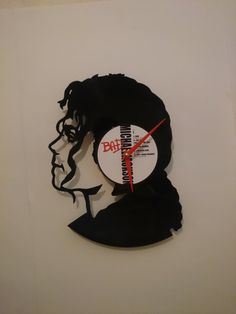 Michael Jackson Record Clock by High5Design on Etsy