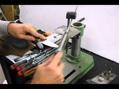 How to Sharpen a knife by hand - YouTube