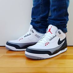 """e19a4faa606 GOTKICKZ on Instagram: """"COP🔥or DROP🗑 ? Comment Go check out my Air Jordan  3 Retro Tinker Hatfield on feet video. Quick link in bio. . . . . .…"""""""
