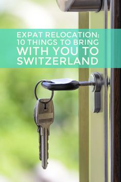 What you need to know before your expat relocation / move to Switzerland with your family and children. http://fureycoaching.com/expat-relocation-switzerland-thing-bring/