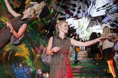 In pictures: Kipling's immersive kaleidoscope creation in London