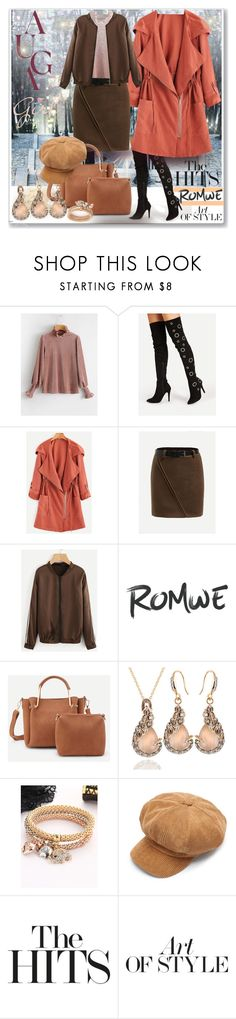 """""""www.romwe.com-LIII-2"""" by ane-twist ❤ liked on Polyvore featuring Pierre Hardy and romwe"""