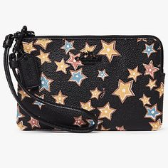af5b85be7fe Buy Coach Leather Print Small Wristlet Purse