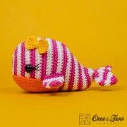 Willa the Whale Amigurumi Crochet Pattern