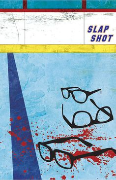 Slap Shot 11 x 17 movie poster by PoppyseedHeroes on Etsy, $14.00