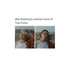 Marina's cover of True Colours snatched everyone's weaves