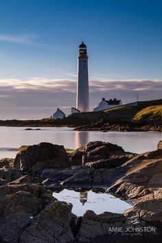 Scurdie Ness #Lighthouse - Montrose, #Scotland - http://dennisharper.lnf.com/