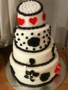 my first wedding cake