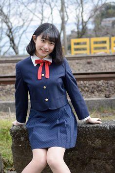 Cute School Uniforms, School Uniform Girls, Girls Uniforms, High School Girls, School Girl Japan, School Girl Outfit, Japan Girl, Girl Outfits, Beautiful Japanese Girl