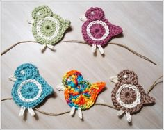 Janin blog: crochet bird to your wishes
