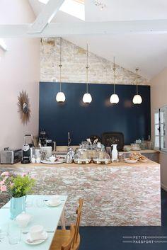 hazienda interior design in weiß mit lila akzent | Kuko ...
