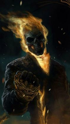 Ghost Rider art,very awesome. Ghost Rider art,very awesome. Comic Book Characters, Marvel Characters, Comic Character, Comic Books Art, Comic Art, Marvel Fanart, Marvel Comics, Marvel Heroes, Captain Marvel