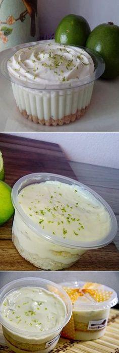 """Cómo Hacer Mousse de LIMÓN """"o TORTITA"""" de limón en casa para vender. #mousse #moussecake #limón #tortilla #tortita #receta #recipe #casero #torta #tartas #pastel #nestlecocina #bizcocho #bizcochuelo #tasty #cocina #chocolate #pan #panes Si te gusta dinos HOLA y dale a Me Gusta MIREN … Bolo Flan, Flan Cake, Delicious Desserts, Dessert Recipes, Yummy Food, Cake Cookies, Cupcake Cakes, Cupcakes, Mini Cheesecakes"""