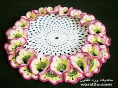 3D Flower doily