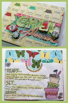 DIY Garden Planner - Organize and Plan Your Perfect Garden for Spring with this Scrapbooking Project Garden Planner, Garden Journal, Grow Your Own Food, Planner Organization, Garden Projects, Garden Ideas, Getting Organized, Fun Activities, Paper Crafts
