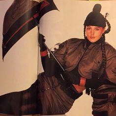 1988-89 - Monica Belluci in Jean-Paul Gaultier in Elle