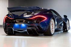 McLaren P1 in Genesis Blue Looks Stunning