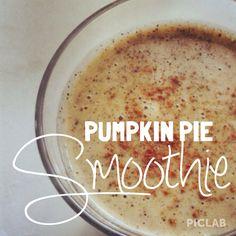 Paleo Pumpkin Pie Smoothie