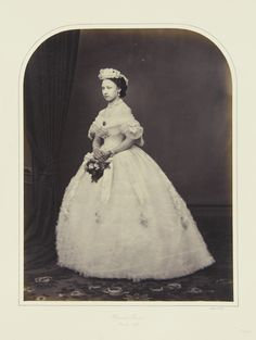 Princess Louise, March 1863 [in Portraits of Royal Children Vol.6 1862-1863] | Royal Collection Trust