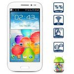 B9500 Android 4.2 Smartphone with 4.5 inch WVGA Screen SP6820 1GHz Dual Camera