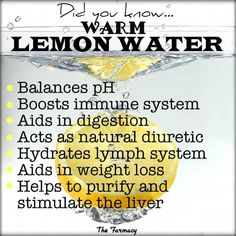 Amazing Benefits of Warm Lemon Water