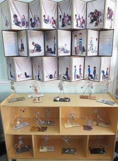 Amazing classroom display - Wire Work Display-Palisades Preschool