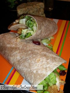 Simple Chicken Wraps with Tyson Crispie Chicken Chicken Wraps, Crispy Chicken, Easy Lunches For Work, Cooking Recipes, Healthy Recipes, What's Cooking, Tyson Chicken, Chicken Lunch Recipes, Wrap Sandwiches