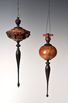 wood turning christmas ornaments - Google Search