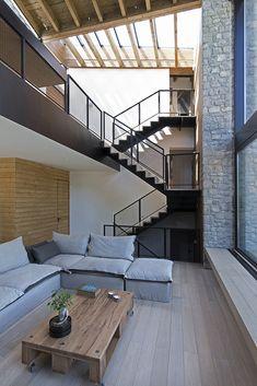 Metal stair