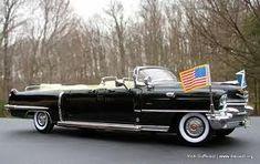 US Presidential Limousine (1956 Cadillac) #classiccars1956cadillac